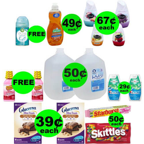 Don't Miss 3 FREEbies 😃 & 6 Deals $.67 Or Less At CVS! (Ends 7/14)