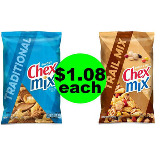 ? $1.08 Chex Mix, Bugles or Gardetto's Snacks At Publix! (Ends 7/3 Or 7/4)