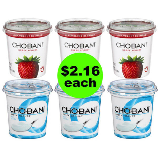 ? Get Ready For $2.16 Chobani Yogurt Tubs (64% Off Savings) At Publix! (6/13 or 6/14-6/16)
