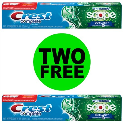 📢Breaking News: ✌ FREE Crest Toothpastes This Week At CVS! CVS! (6/10-6/16)