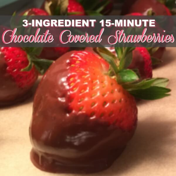 How To Make Your Own DIY Chocolate Covered Strawberries Recipe