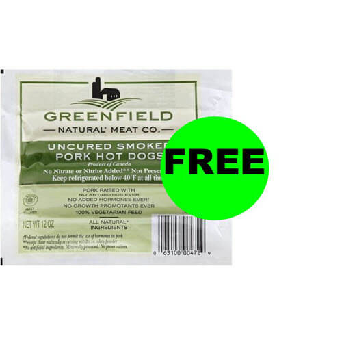 "FREE Greenfield Natural Hot Dogs (Or 50¢ For Some) ? ""Clip"" Digital Coupon At Publix! (Ends 7/3 Or 7/4)"