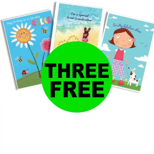 Sneak Peek CVS Deal: (3) FREE Hallmark Cards! (10/20-10/26)