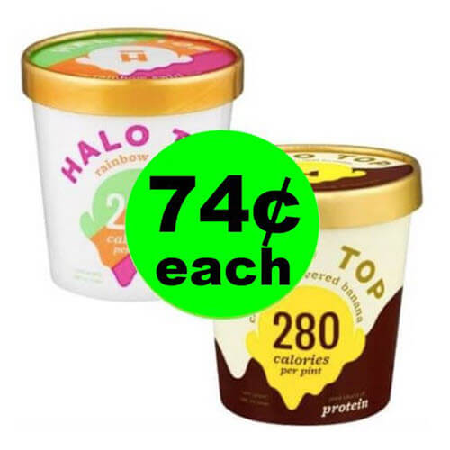 Healthy Halo Top Ice Cream 🍨74¢ At Publix (Save 86% Off)! (6/20-6/26 or 6/21-6/27)