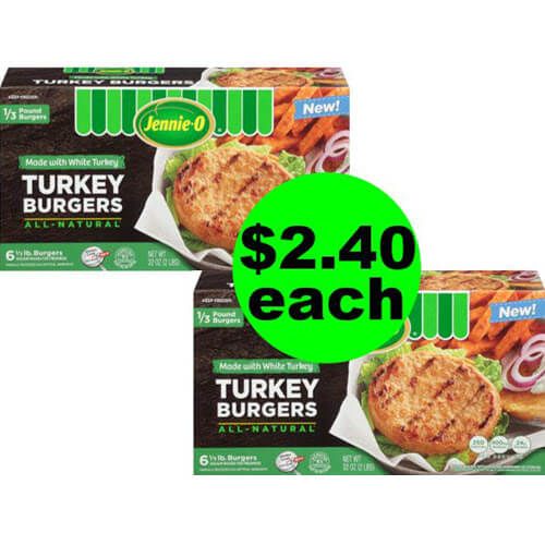 ? Get Ready For $2.40 Jennie-O Turkey Burgers (After Ibotta) At Publix! (6/27-7/3 or 6/28-7/4)
