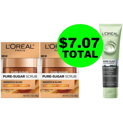 Just $7.07 Total For (3) L'Oreal Skin Care Products At CVS (Save 79% Off)! (6/17-623)