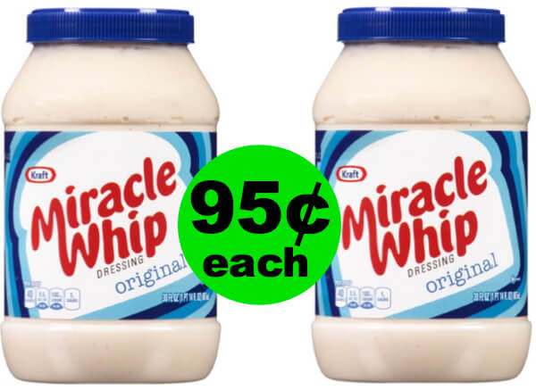 Miracle Whip Is Only 95¢ (After Ibotta) At Publix Starting 7/4 or 7/5!