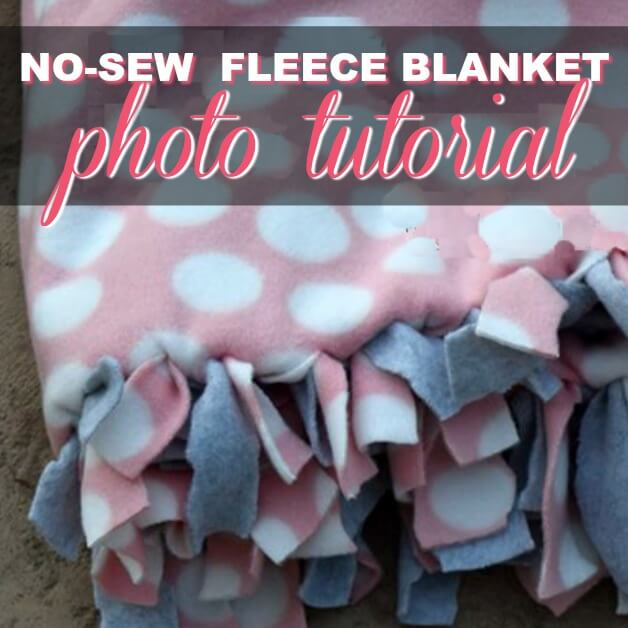 How To Make The Best No-Sew Custom Fleece Blanket