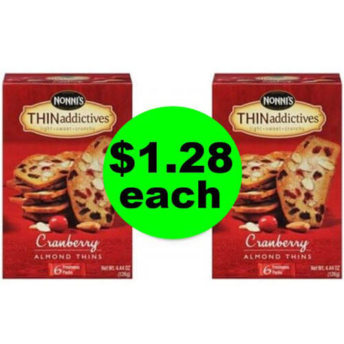 Look, ? $1.28 Nonni's THINaddictives ?? At Publix (64% Savings)! (Ends 6/19 Or 6/20)
