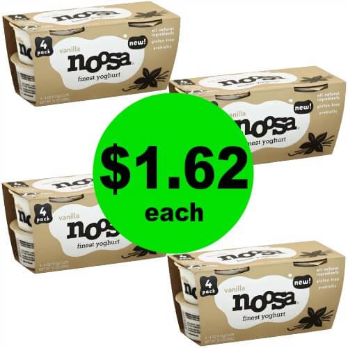 ?Indulge in Noosa Yogurt 4 Packs for $1.62 (64% Savings) at Publix! (Ends 6/12 Or 6/13)