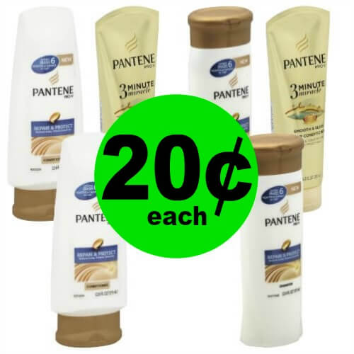 ??‍♀️Pantene Hair Care Products are 20¢ at Publix! (6/6-6/12 or 6/7-6/13)