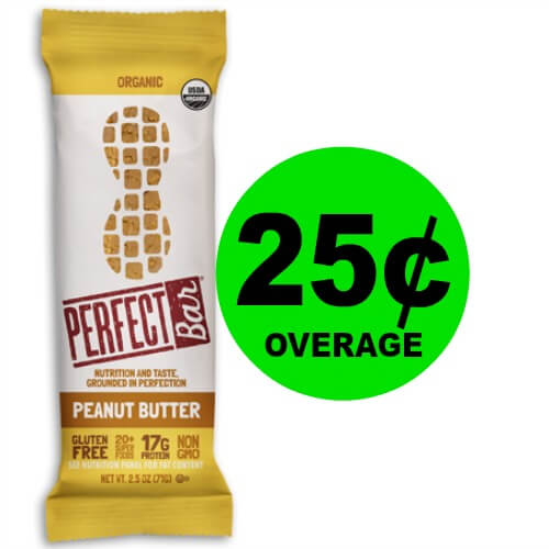 ?FREE + 25¢ Overage On Perfect Bar at Publix! (Ends 6/12 Or 6/13)