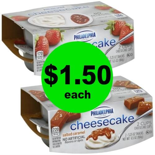 🖨Print Now to Enjoy Philadelphia Cheesecake Cups for $1.50 Each At Publix! (Starts 6/13 or 6/14)
