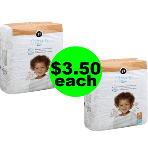 Publix Deal: 👶 $3.50 Publix Baby Diapers Or $4 Training Pants (No Coupons Needed)! (5/15-5/21 Or 5/16-5/22)