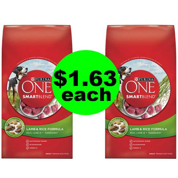 Wow, $1.68 Purina ONE ? Food At Publix (Save 86%)! (Ends 6/19 Or 6/20)