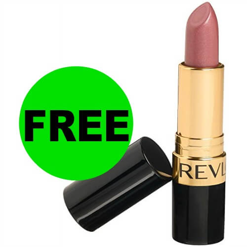 ?Free Revlon Lipstick at CVS! (Ends 6/16)