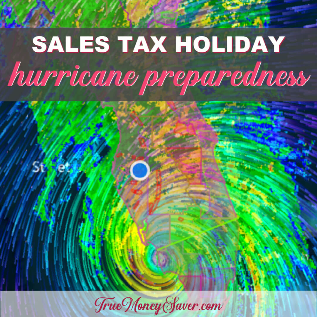 Florida Sales Tax Holiday {Time to Stock Up On Batteries, Flashlights and Candles!}