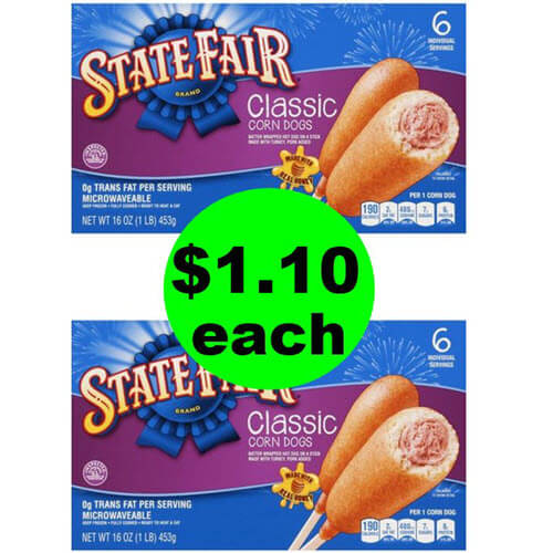 😲 $1.10 State Fair Corn Dogs At Publix (Save 70% Off After Ibotta)! (6/20-6/26 or 6/21-6/27)