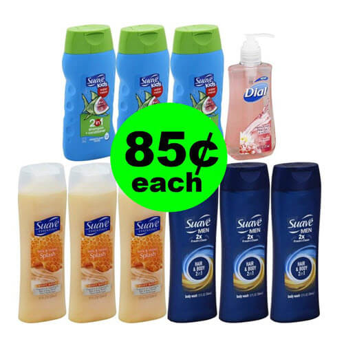 ? Stock Up On 85¢ Suave Products At Publix (Save 60% Off)! (6/17-6/23) ?