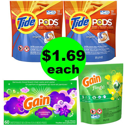 You Deserve A Laundry Stock Up 👖 $1.64 Tide & Gain Products At CVS! (6/24-6/30)