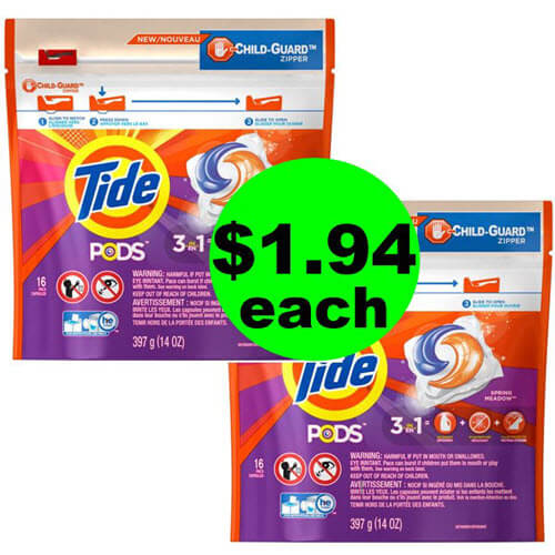 Last Chance 👕 Hurry To Get Your $1.94 Tide Pods At CVS! (7/22-7/24)