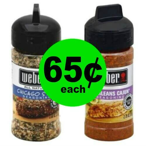🔥 Don't Miss Weber Seasonings Only $.65 Each At Publix! (Ends 6/19 or 6/20)