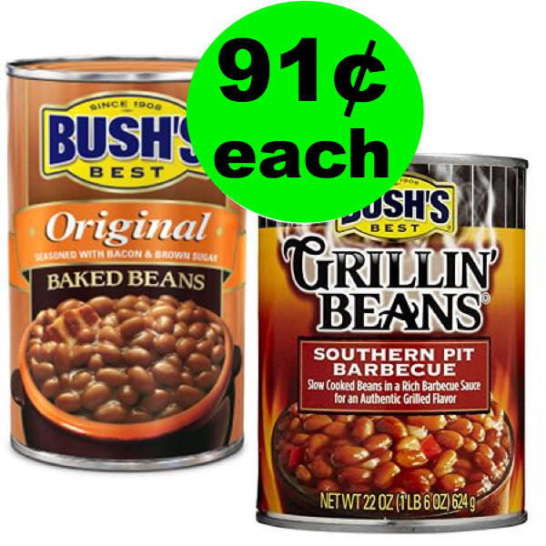?Cheap BBQ Side Dish! 91¢ Bush's Baked Beans Or Grilling Beans At Publix! That's 63% Off! (6/28 – 7/4 or 6/27 – 7/3)