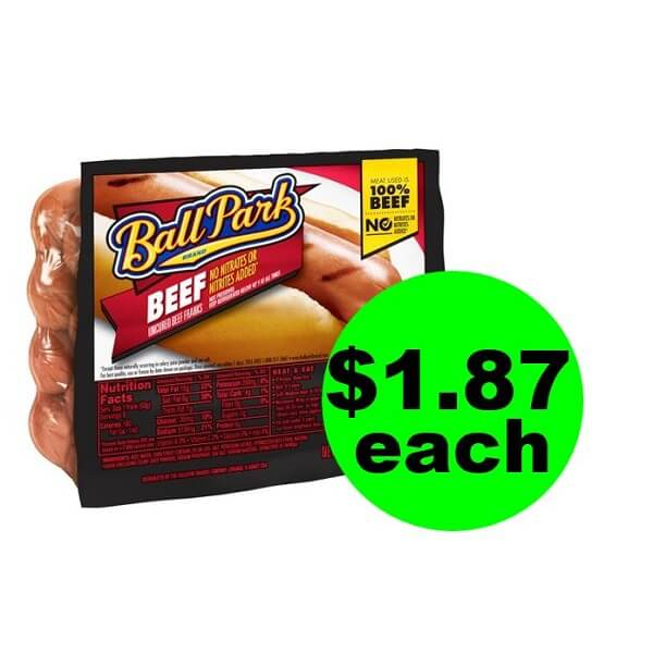 Publix Deal: 🌭 $1.87 Ball Park Hot Dogs! (Ends 5/28 Or 5/29)