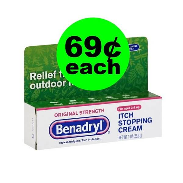 Publix Deal: 🐜 69¢ Benadryl Itch Stopping Cream! (Ends 4/5)