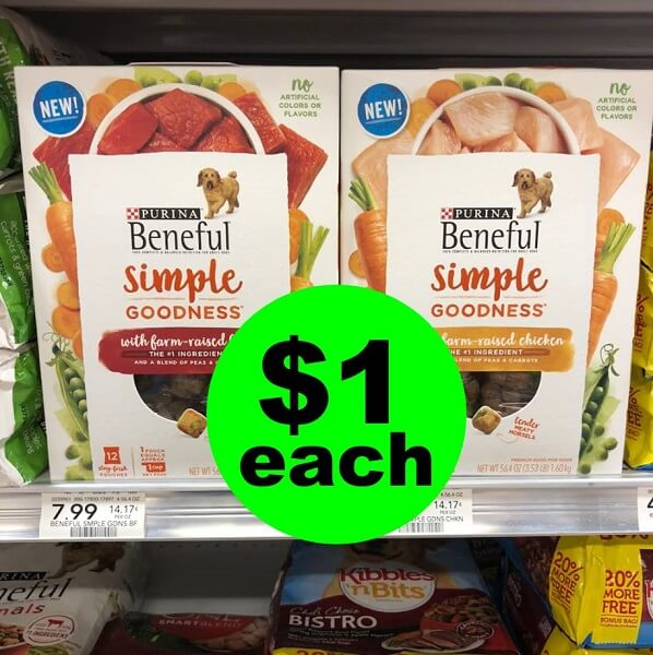 Publix Deal: Print Now For $1 Beneful Simple Goodness Dog Food (Save 87% Off)! (Ends 7/2 Or 7/3)