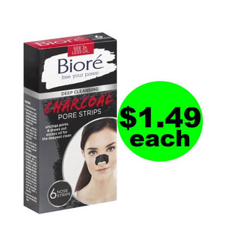 ? $1.49 Biore Pore Strips At Publix (Save 77% Off)! (Ends 7/27)