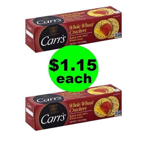 $1.15 Carr's Crackers ? At Publix (Save 73% Off)! (Ends 7/20)