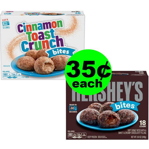 35¢ Cinnamon Toast Crunch or Hershey's Mini Frozen Dessert Bites At Publix (After Ibotta, Save 92% Off)! (Ends 7/3 Or 7/4)