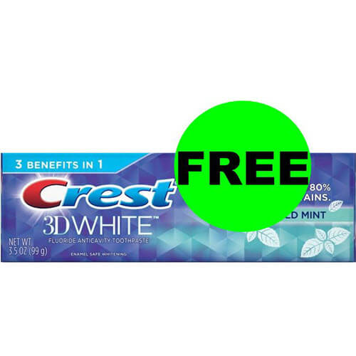 😀 FREE Crest Toothpaste At CVS! (7/15-7/21)
