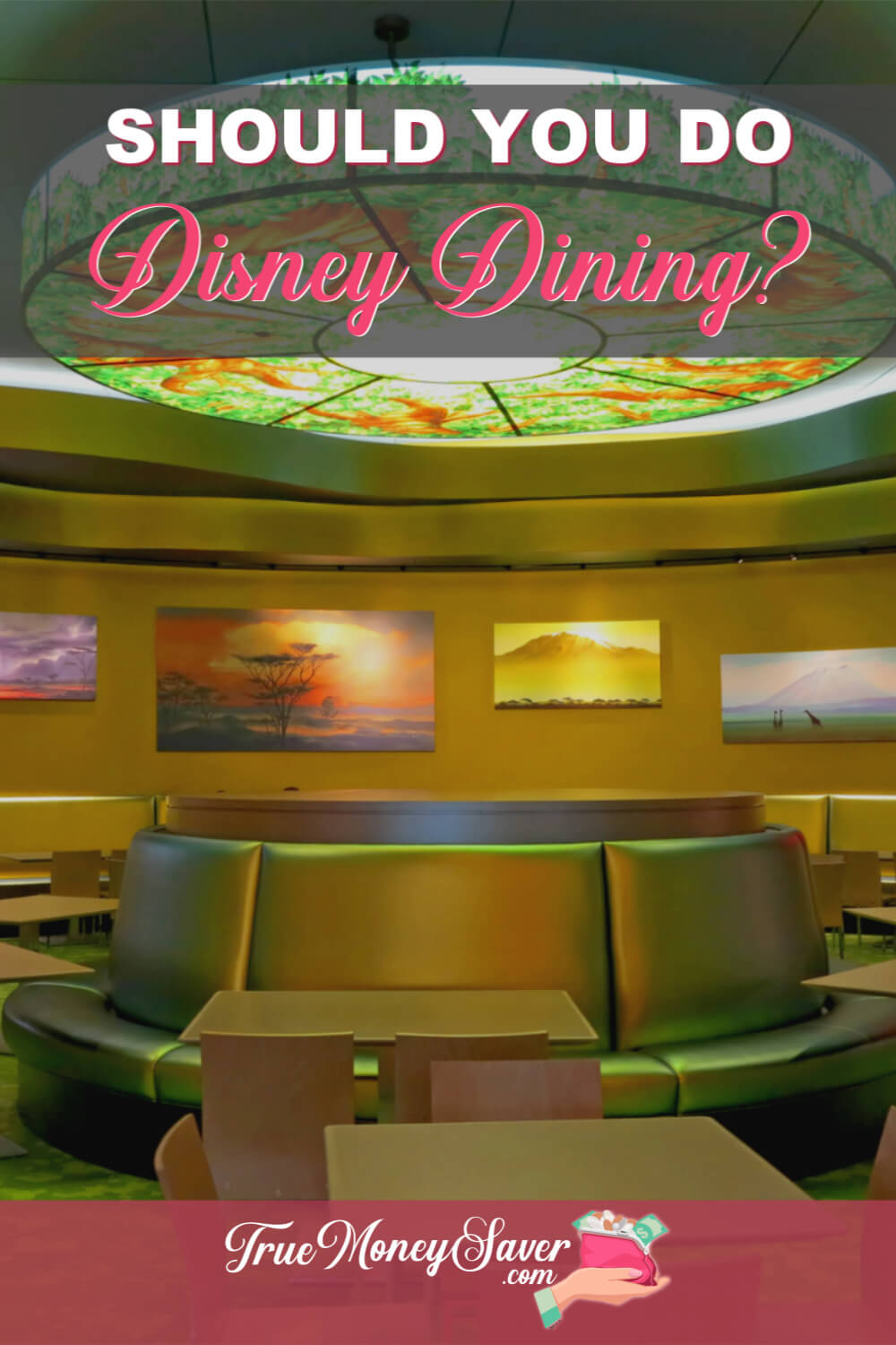 The Disney World Dining Plan can be confusing with all the options available. This post helps you organize your options to make the best choice for your family. #savingmoney #disneyworld #disneyfun #truemoneysaver