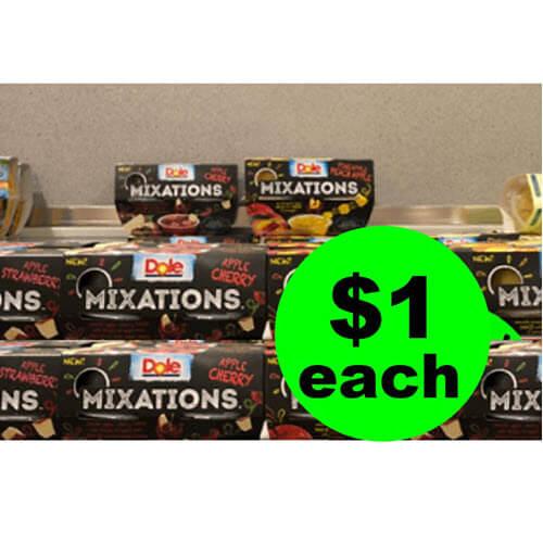 Publix Deal: $1 ? Dole Mixations Fruit Cups! (Ends 11/27 or 11/28)
