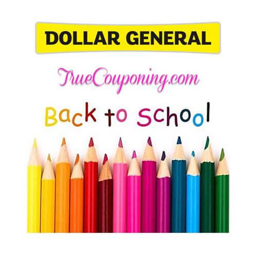 BTS Deal: 😂 Dollar General Back To School Deals! (8/19-8/25)