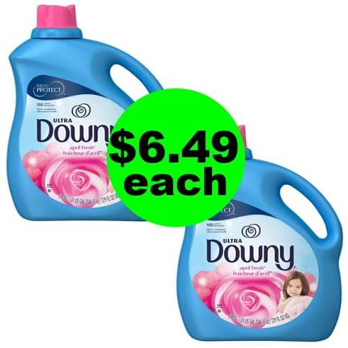 Publix Deal: ? Downy Softener HUGE Bottles $6.49 Each (Save 50% Off, After Ibotta)! (12/30-1/1 or 1/2)