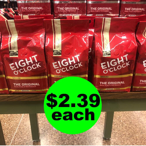 Publix Deal: ☕ $2.39 Eight O Clock Coffee Bags Or $3 K-Cups! (4/24-4/30 Or 4/25-5/1)