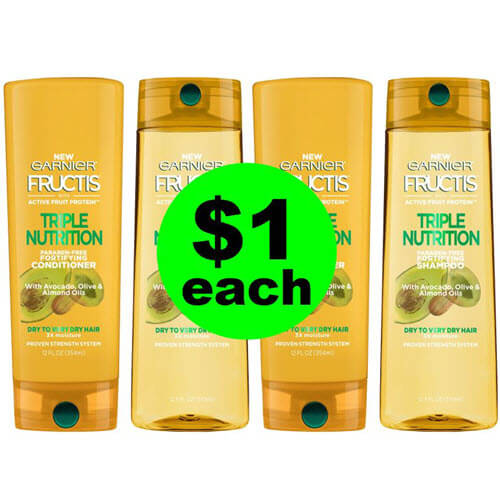 $1 Garnier Fructis Hair Care 👩 At Publix! (Ends 7/13)