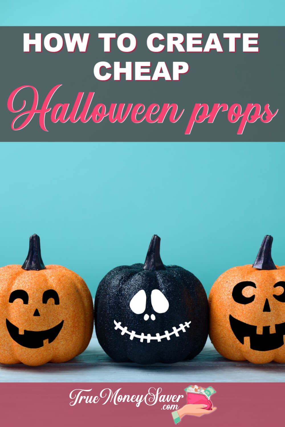 Decorating for Halloween can cost a fortune. Save some money by making your own cheap Halloween props! Here are 6 ideas that are easy and affordable! #truecouponing #halloween #halloweendecor #halloweendecorations #halloweeprops