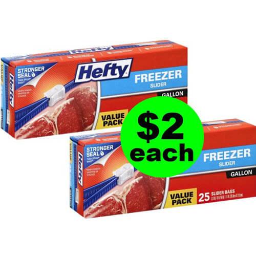 $2 Hefty Slider Bags Value Packs ? At Publix! (Ends 7/10 Or 7/11)