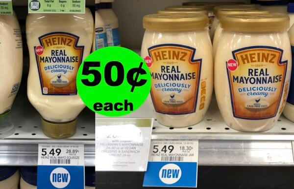 Heinz Mayo Is Only 50¢ Now! Hope You Didn't Use Your $4.50 Ibotta Yet! (7/11 – 7/17 or 7/12 – 7/18)