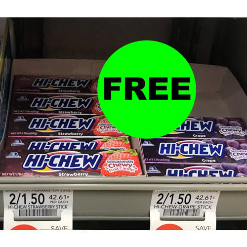 Publix Money Maker Deal: ? (8) FREE + $2 Money Maker On Hi-Chew Candy!