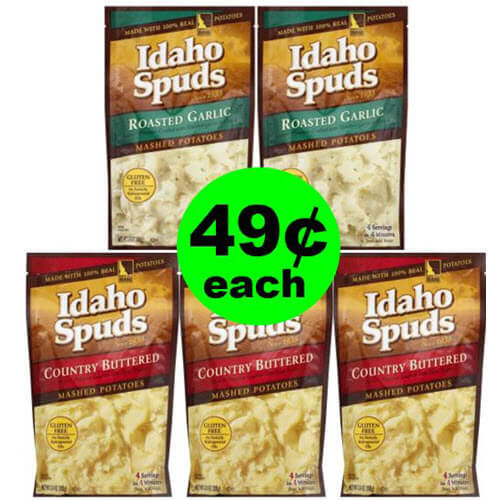 49¢ Idaho Spuds Mashed Potatoes ? At Publix (After Ibotta)! (Ends 8/1)