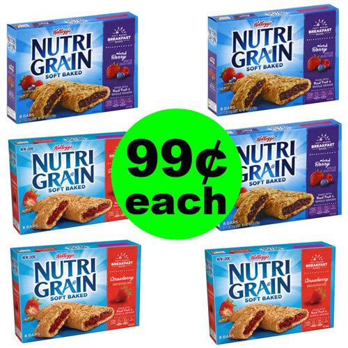 Publix Deal: 99¢ Nutri-Grain Bars 8-ct Box! (8/4- 8/7 or 8/8)
