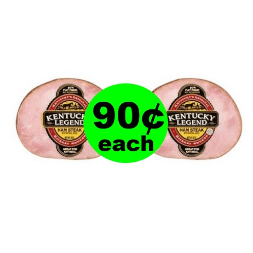 90¢ Kentucky Legend Ham Steak ? At Publix! (Ends 7/22)