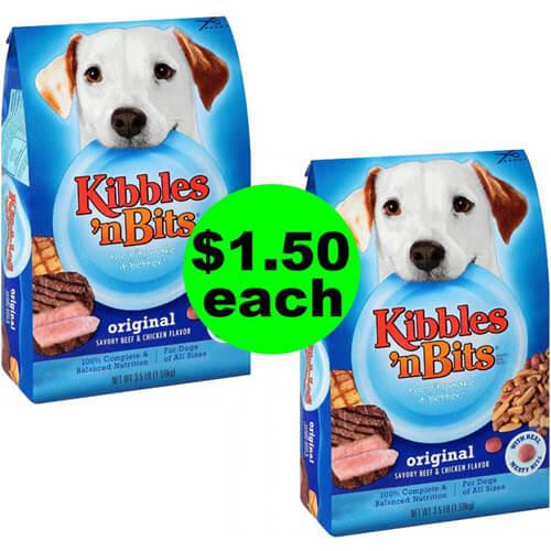 🐶 $1.50 Kibbles 'N Bits Dog Food At Publix (Save 70% Off)! (7/18-7/24 or 7/19-7/25)