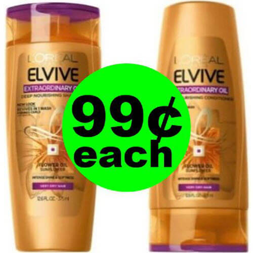 You'll Find 😁 99¢ (80% Off!) L'Oreal Elvive Hair Care At CVS! (7/15-7/21)