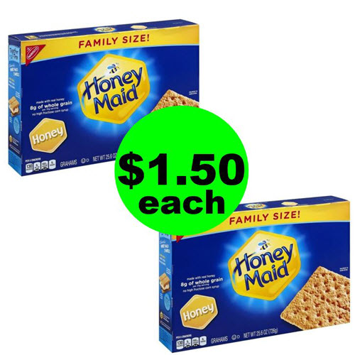 ? Family Size Honey Maid Graham Crackers As Low As $1.50 Each At Publix! (Ends 7/31 or 8/1)